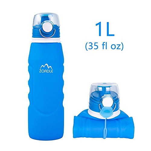 ZOADLE Reusable Collapsible Water Bottles