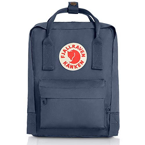Fjallraven Women's Kanken Mini Backpack, Graphite, Blue, One ()