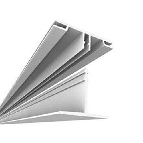 (Ceilingmax 64 sq. ft. White Surface Mount Ceiling Grid Kit)