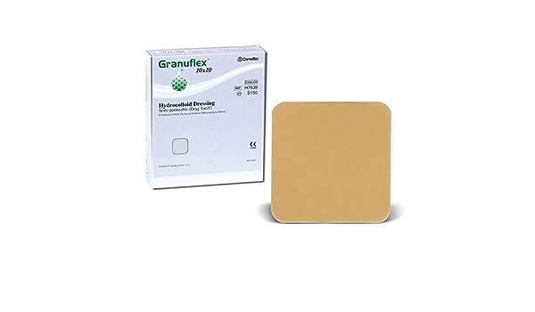 Granuflex Hydrocolloid - Vendaje semi permeable, tratamiento para heridas y quemaduras: Amazon.es: Salud y cuidado personal