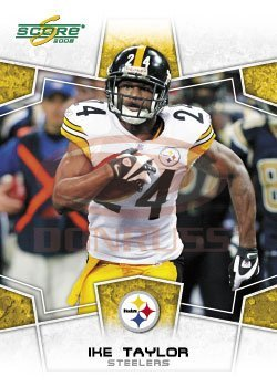 1d54a85fd Image Unavailable. Image not available for. Color: 2008 Score #256 Ike  Taylor CB - Pittsburgh Steelers ...