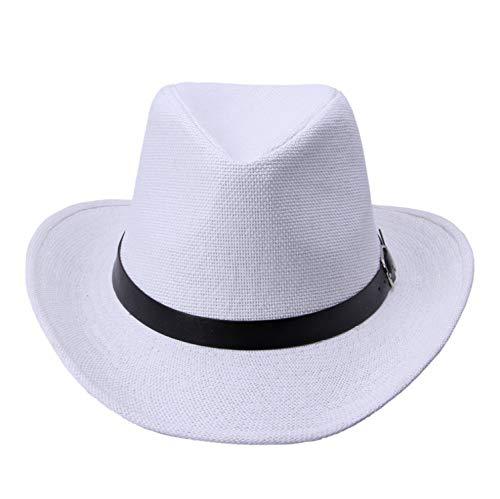 Tiehan 6 Colors Summer Men Straw Hat Cowboy