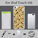 Mr Doge MEME Custom iPod 6/6th Generation Cases-White-Plastic,Bundle 2in1 Comes with Custom Case/Universal Stylus Pen by innosub
