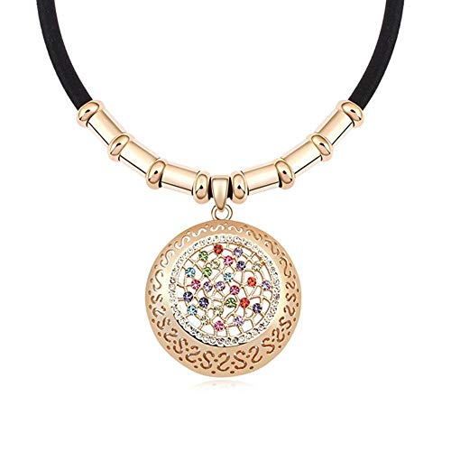 (Mayanyan Austrian Imported Crystal Fashion Pendant Necklace Lady Gift )