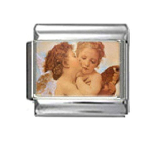 Stylysh Charms Angels KISS Religious Photo Italian 9mm Link RE001