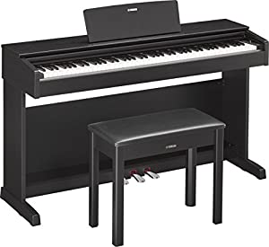 Yamaha YDP143B Arius Series Console Digital Piano with Bench, Black Walnut