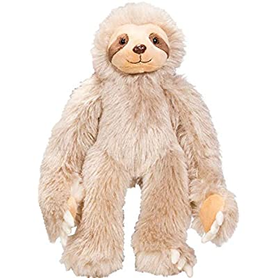 "Teddy Mountain Sloth Heartbeat Voice Recorder 20 sec. Recordable Stuffed (8""): Baby"