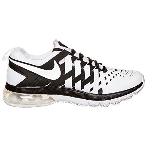 Nike - Zapatillas de deporte Fingertrap Max , Hombre , Plateado (Metallic Dark Grey/Metallic Dark Grey/Black) blanco