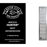 Hunter 30973 Compatible Air Purifier Filter, Motor City Home Products Brand Replacement (1)