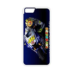"Valentino Rossi theme pattern design For Apple iPhone 6 Plus 5.5"" Phone Case"