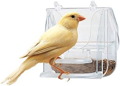 Ferplast - Comedero bonito 4522 para pájaros