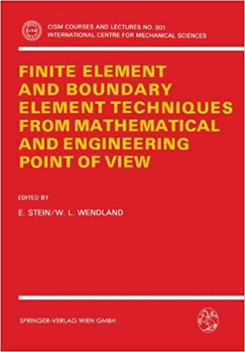 Download e books finite element and boundary element techniques from conventional fem and the newer bem underlie many engineering computational equipment and corresponding software program either tools have their advantages fandeluxe Image collections