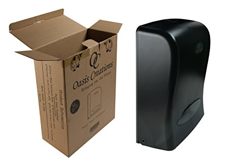 Oasis Creations Touchless Wall Mount Paper Towel Dispenser, Hold 500 Multifold Paper Towels by Oasis Creations (Image #2)