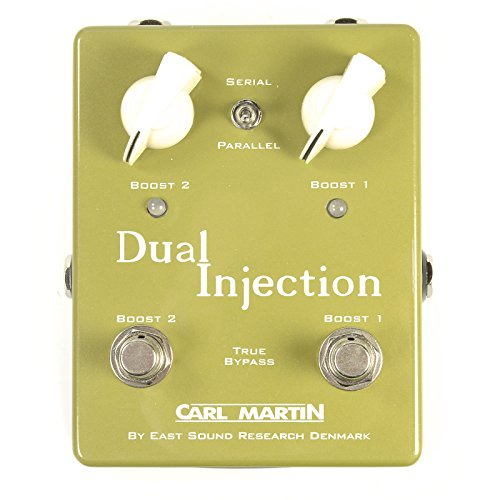 Carl Martin Duel Injection Guitar Distortion Effects Pedal