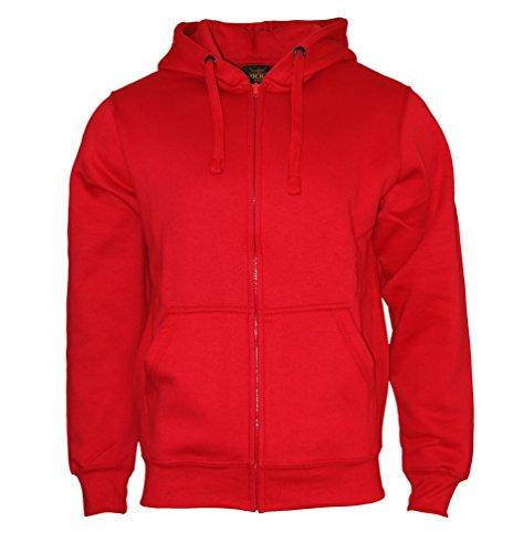 Pull Bleu Grau Zipper it Sweat À Rock Apparel® Rouge Homme Hoodie Travailleur Capuche Lourd Vert Veste Noir Pullover RwPxS4