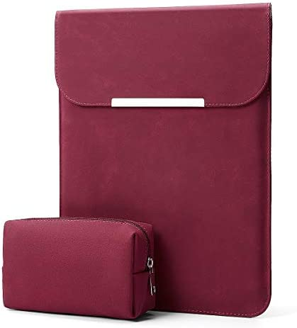 Kalidi MacBook Leather 13 13 5 Burgundy product image