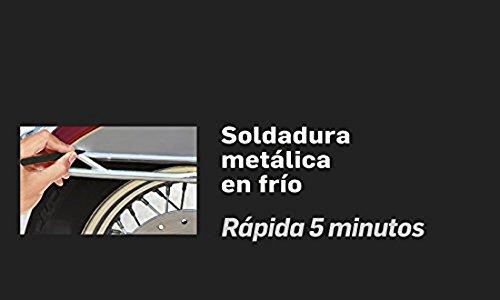 Henkel 14010117 Soldadura metálica en frío gris: Amazon.es: Bricolaje y herramientas