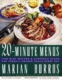 Twenty Minute Menus, Marian Burros, 0671623907