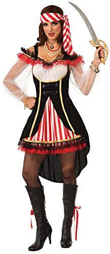 Forum Novelties Women's Nautical Lass Costume, Multi, -