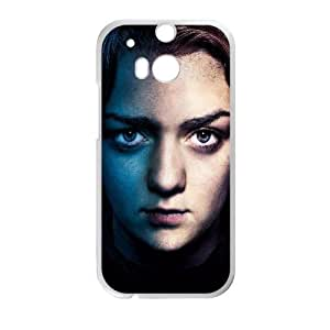 HTC One M8 Cell Phone Case White Game Of Thrones Arya Stark GY9041400