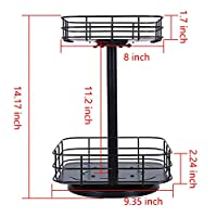 OROPY 360 Degree Turntable Lazy Susan - dimensions