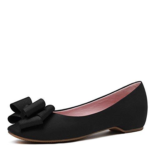Zapatos de primavera/Cabeza circular poco profunda arco zapato del barco/baja zapatos casual C
