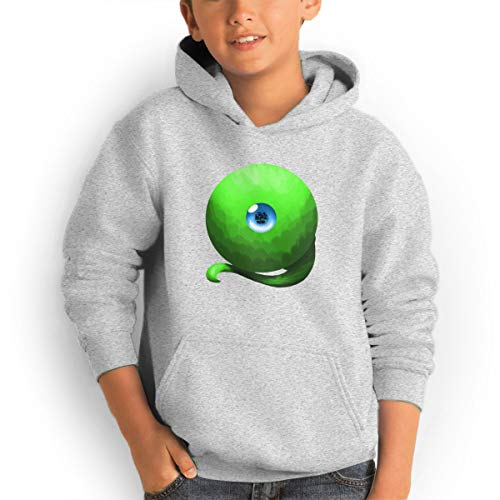 (Septiceye Sam Youth Hoodies Fashion Sweatshirts Pullover Gray)