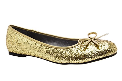 Ballerines Andres TG104 Glitter Gold Machado wqYZOR