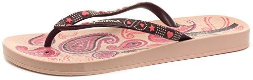 Ipanema Lovely V Womens Flip Flops/Sandals-Pink-7