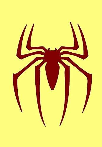 * * * * * * * A3/Grand pochoir Spiderman Symbole * Nouvelle Plus /épais 190/microns r/éutilisable en Mylar