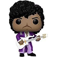 Funko POP Rocks: prince-purple lluvia Coleccionable Figura, multicolor