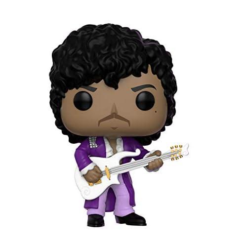 Funko Pop Rocks: Prince - Purple Rain Collectible Figure, Multicolor