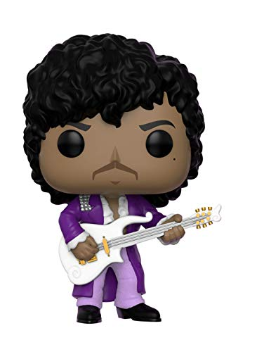 Funko Pop Rocks: Prince - Purple Rain Collectible Figure, Multicolor