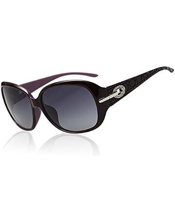 ed48effaf0f44 Duco Lunettes teintées classiques grands verres lunettes de soleil  polarisées 100% Protection UV 6214