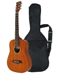 Amazon.com: S.Yairi Compact Acoustic Series Mini acoustic guitar YM - 02 / MH Mahogany ...