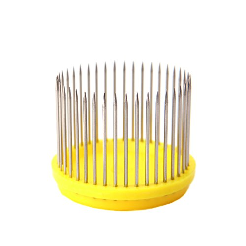 Onpiece 5Pcs Needle Type Beekeeping Queen Bee Cage ,Stainless Steel + Plastics