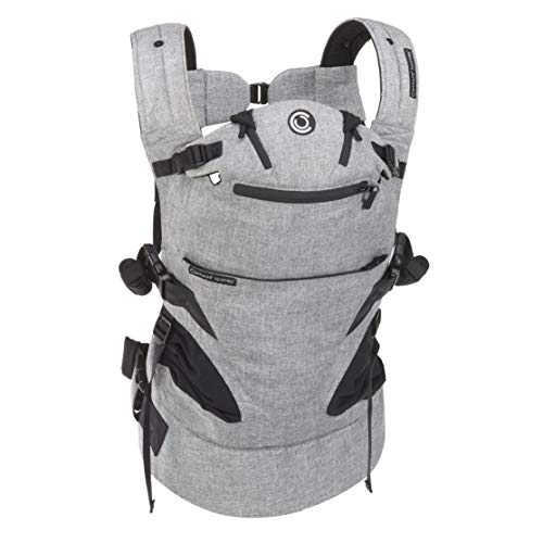 Contours Journey 5-in-1 Child Baby Carrier, 5 Carrying Positions, Graphite Grey