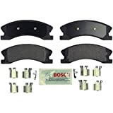 Bosch BE945H Blue Disc Brake Pad Set with Hardware for 1999-04 Jeep Grand Cherokee - FRONT