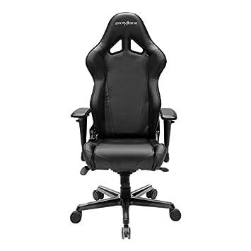 DXRacer Racing Series Doh/RV001 silla de oficina gaming silla aspecto de carbono Vinyle ergonómico