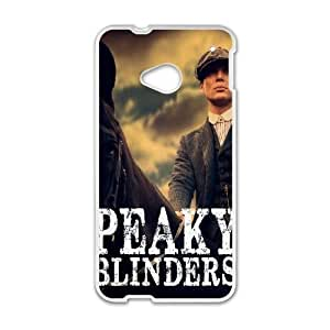 HTC One M7 Cell Phone Case White Peaky Blinders SLI_720551