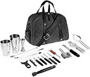 Barfly Cocktail Set, 4-Piece Basics, Stainless