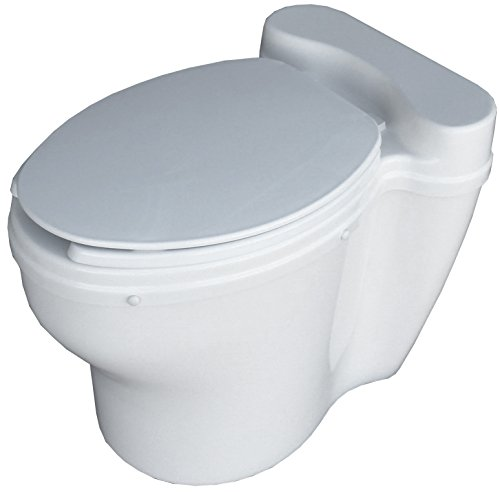 Sun-Mar Elongated Dry Toilet Non-Electric Waterless Toilet ()