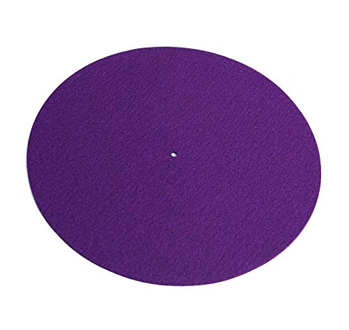 Rega Mat Purple Standard Wool Turntable Mat