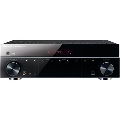 Best of Sherwood R-507 5.1 Audio Video Receiver with Front Panel USB Input