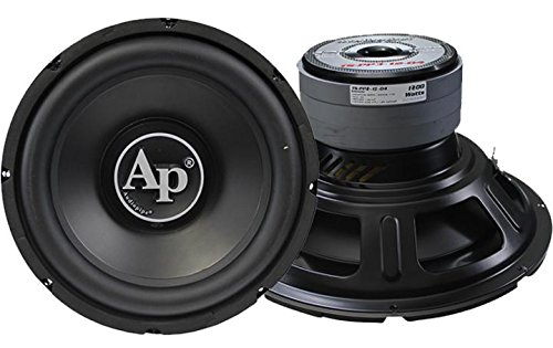 AU-AudioPipe Audiopipe 15in 1200w Double Stack Woofer by AU-AudioPipe