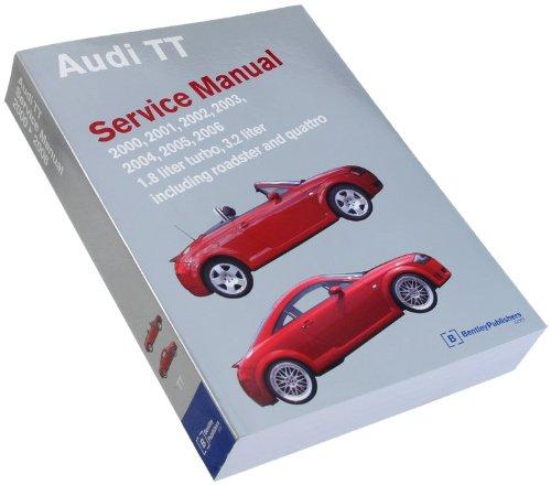 Bentley W0133-1736743-BNT Paper Repair Manual Audi TT 2000
