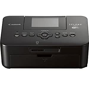 Canon SELPHY CP910 Compact Photo Color Printer, Wireless, Portable (Black) (Discontinued By Manufacturer)