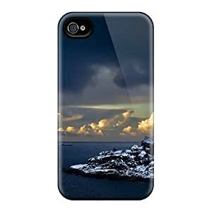 Fashion Tpu Case For Iphone 4/4s- Norwegian Coast Defender Case Cover