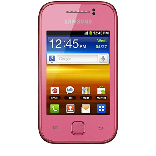 Mp3 Player Band Samsung Quad - Samsung S5360 Galaxy Y Unlocked GSM Quad-Band Smartphone with Android OS, Touchscreen and 2 MP Camera - No Warranty - Pink (Renewed)