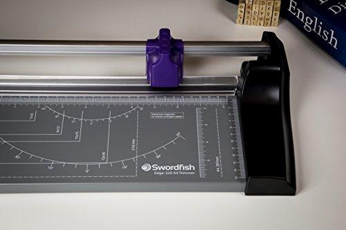 NEW Swordfish Slimline Paper Trimmer A4 Purple